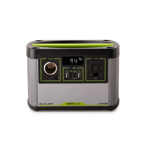 Goal Zero Yeti 200X Solar Portable Power Station