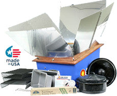 Sun Oven with Dehydrating and Preparedness Accessory Package