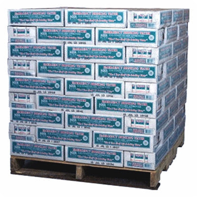 Aqua Blox Emergency Drinking Water 6.75 oz, 5-Year Shelf Life, 1 Full Pallet - 119 cases (32/case) - 3,808 Aqua Blox