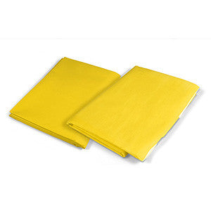 "Yellow Emergency Blanket (premium) 54""x80"",  100/cs"