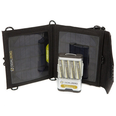 Goal Zero Guide 10 Plus Solar Charging Kit