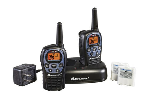 Midland Up to 26 Mile, Two-Way, Weather/GMRS Radios With Batteries and Charger