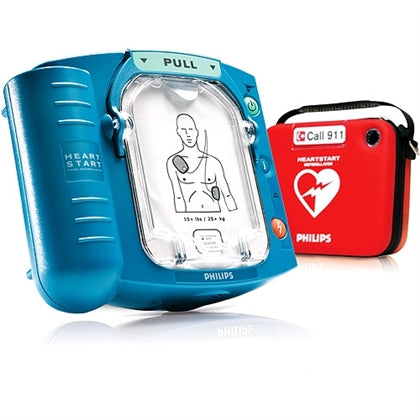 Philips HeartStart OnSite AED, FREE Slim Carry Case