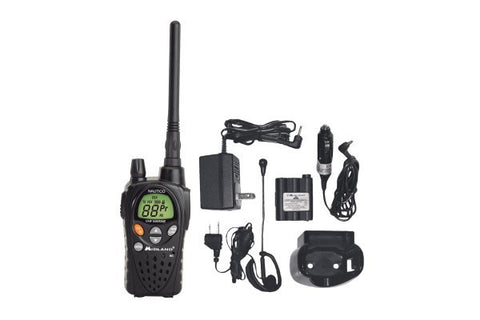Midland 5-Watt VHF Marine/Hazard, Weather Alert Radio With Batteries and AC Charger