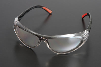 Action Series Safety Glasses with Clear Frame and Clear Anti-Fog Lens