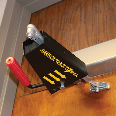 Barracuda Intruder Defense System Scissor Action Door Closers