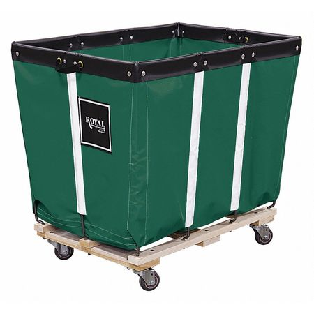 Basket Truck for Storage and Rapid Deployment of Emergency Equipment, Permanent Liner, Green