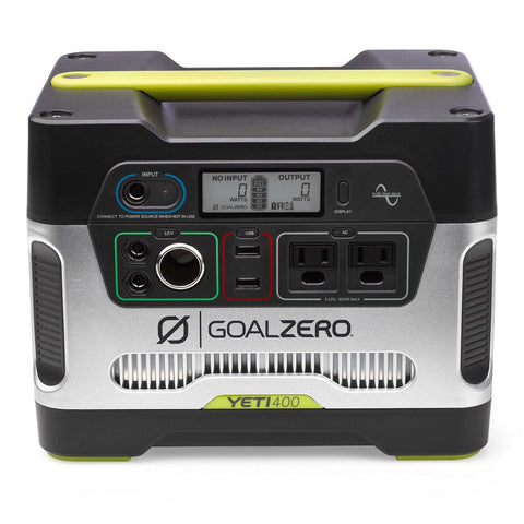 Goal Zero Yeti 400 Solar Portable Power Station