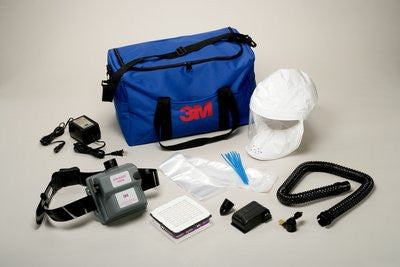 3M Air-Mate Vinyl Belt-Mounted High Efficiency (HE) Powered Air Purifying Respirator (PAPR) System