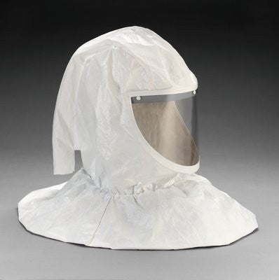 3M Hood Assembly With Collar and Hardhat for Belt-Mounted PAPRs and Supplied Air Respirator Systems