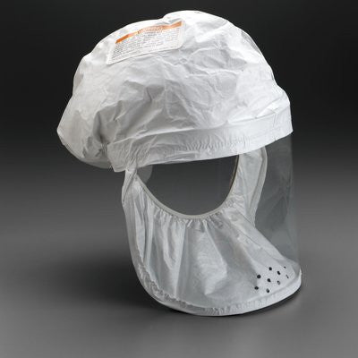 3M Air-Mate & Breathe Easy PAPR Respirator Head Cover, Case/3