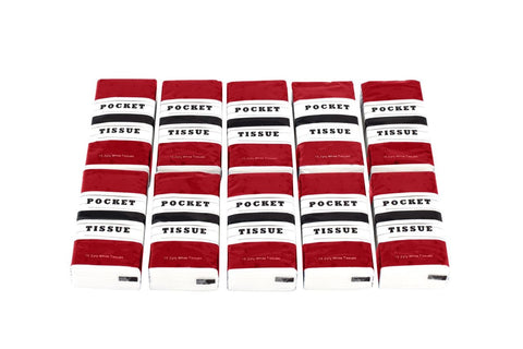 Pocket Tissue Packets, cs/100