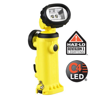 Streamlight Knucklehead HAZ-LO Class 1, Division 1, Rechargeable C4 LED Flood Work/Utility Light, 163 Lumens, Charger/Holder & 120V AC & DC Cords