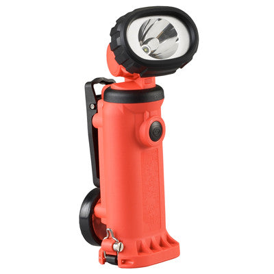 Streamlight Knucklehead Spot With Clip HAZ-LO Class 1, Division 1, Rechargeable C4 LED Work/Utility Light, 150 Lumens, Charger/Holder & 120V AC & DC Cords