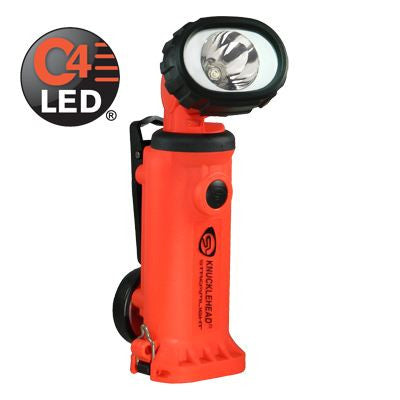 Streamlight Knucklehead Spot Rechargeable C4 LED Work/Utility Light, 180 Lumens, Charger/Holder & 120V AC & DC Cords