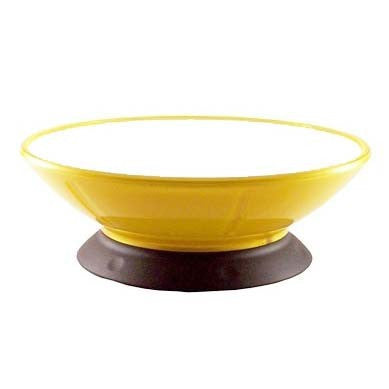 ModaPet Lemon Zest Pedestal Bowl for Cats and Dogs, 2 Cups