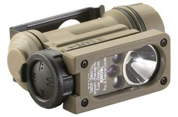 Streamlight Sidewinder Compact II Military Model Multi-LED Flashlight with Helmet Mount & Rail Mount