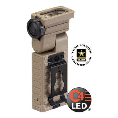 Streamlight Sidewinder Military Model Multi-LED Flashlight with Helmet Mount