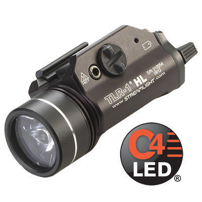 Streamlight TLR-1 HL, 630 High Lumen, Tactical Gun Mount