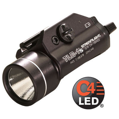 Streamlight TLR-1s, 300 Lumen, Tactical Gun Mount with Strobe
