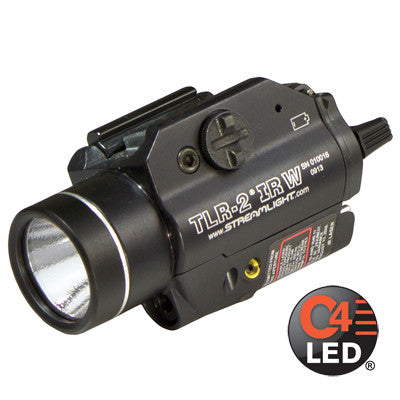 Streamlight TLR-2 IRW, 300 Lumen, Tactical Gun Mount with Infrared Laser