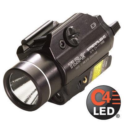 Streamlight TLR-2, 300 Lumen, Tactical Gun Mount with Red Laser