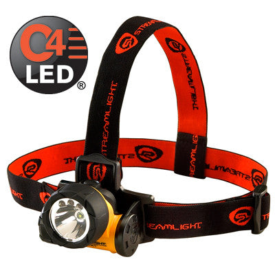 Streamlight Trident Headlamp C4 White LED 80 Lumens, Includes 3 AAA Alkaline Batteries