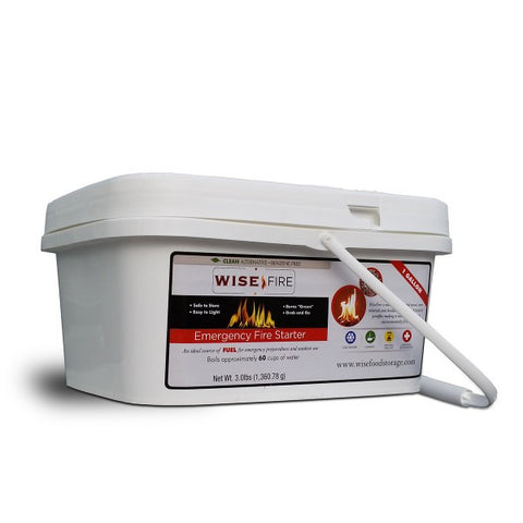 Emergency Survival Fire Starter, 1 Gallon