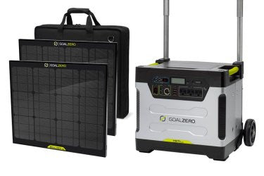 Goal Zero Yeti 1250 Solar Generator Kit With 2 Boulder 30 Panels