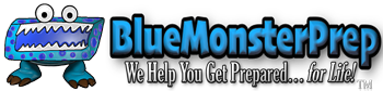 Blue Monster Prep Logo