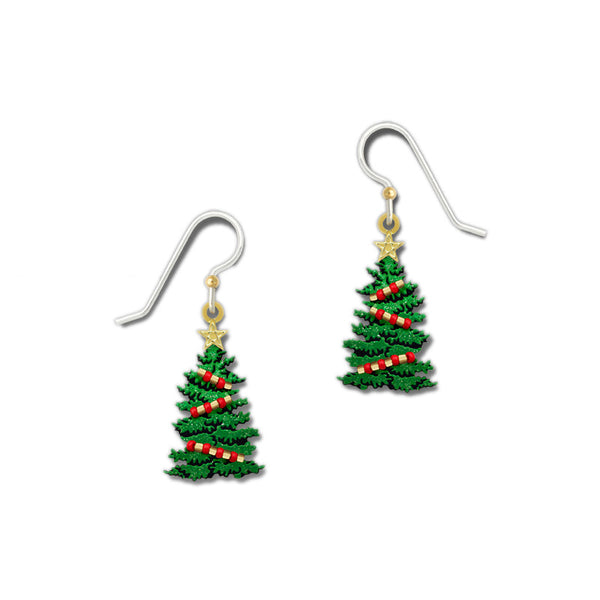 Green Christmas Tree Gold-tone Ornament & Star by Sienna Sky