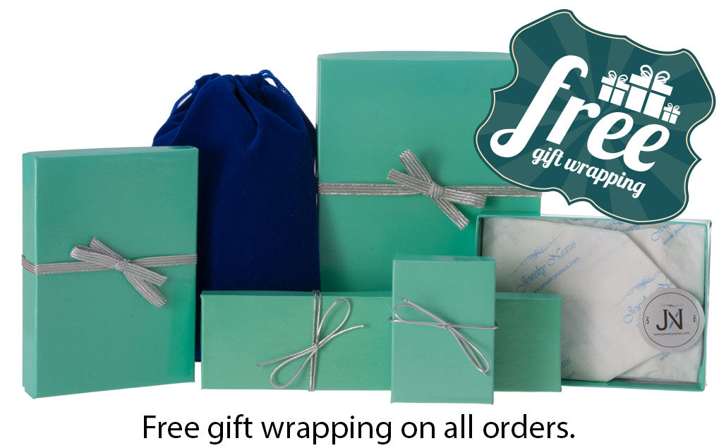Free gift wrapping on all orders.