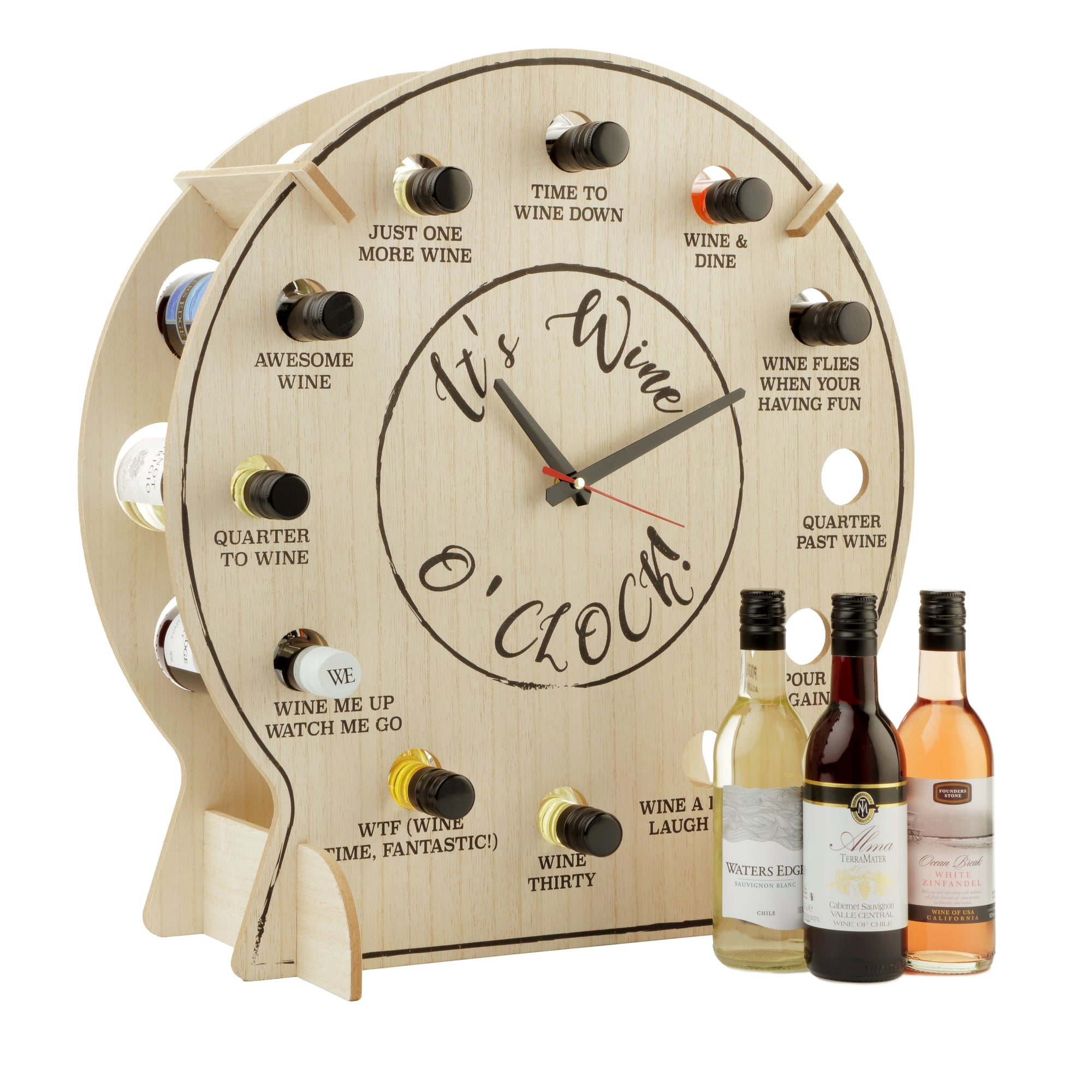 Wine O' Clock (Clock Only)