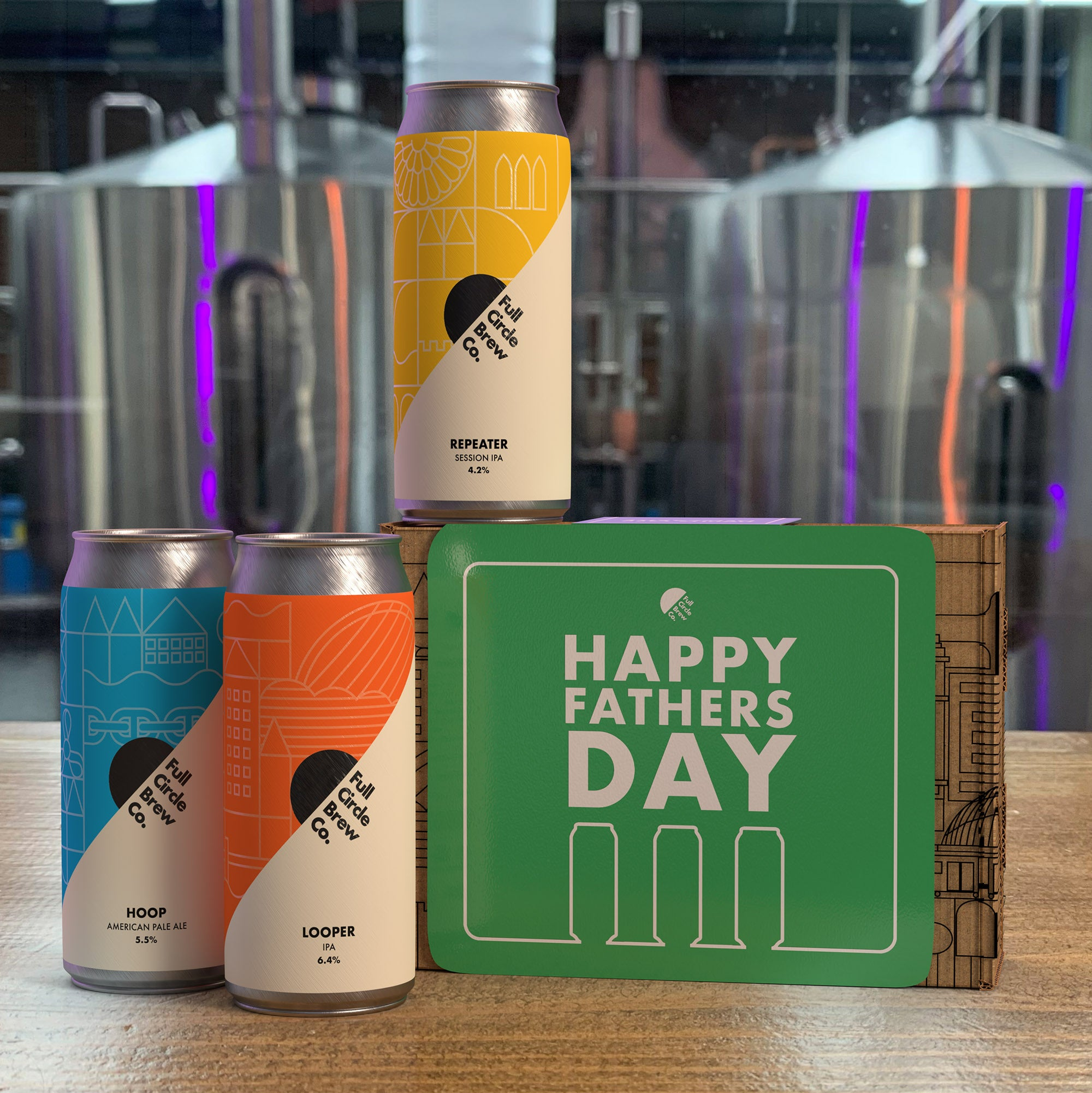 Full Circle Brew Co - 3-Can Gift Pack (Father's Day)