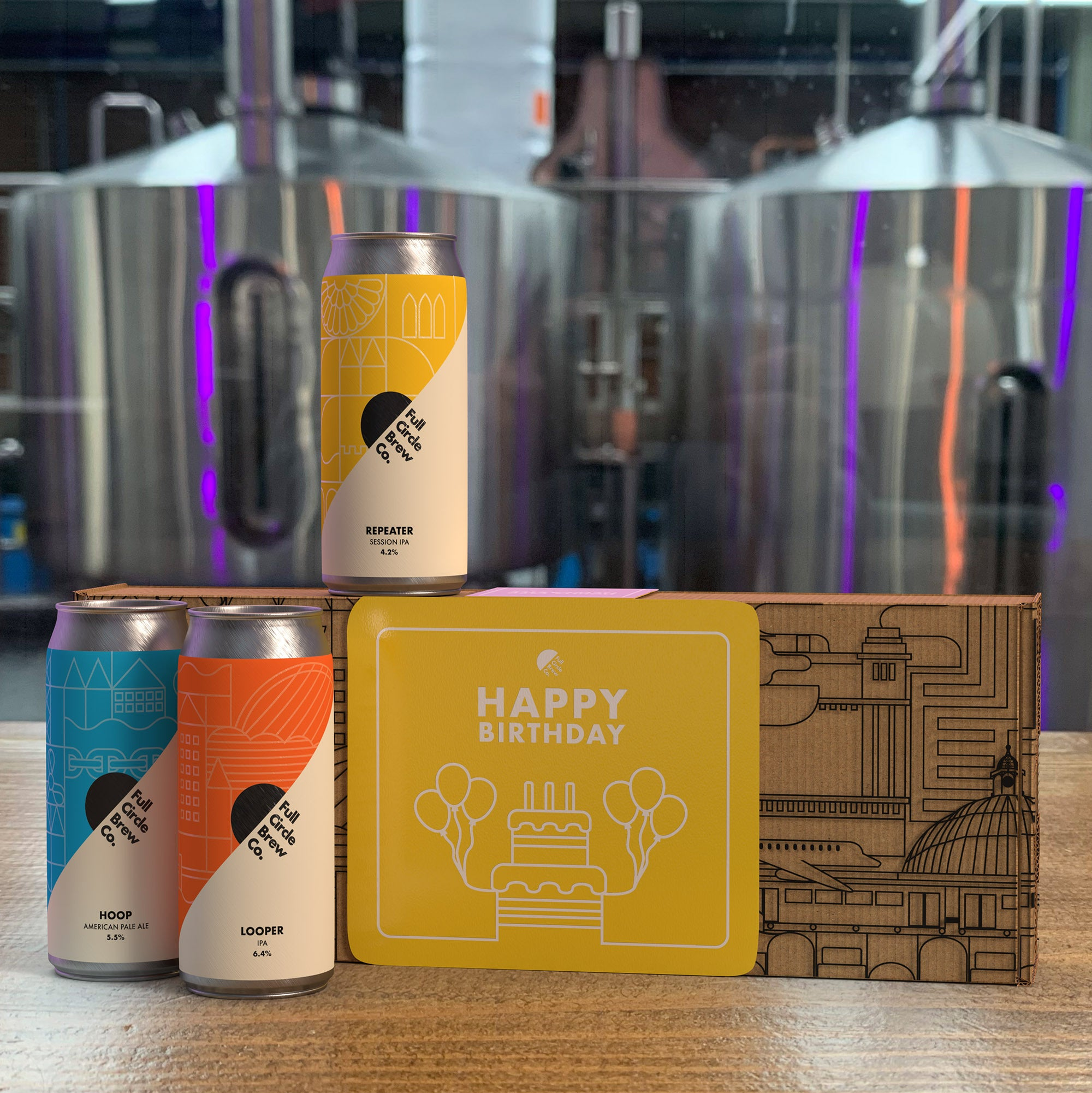Full Circle Brew - 6-Can Gift Pack (Happy Birthday)