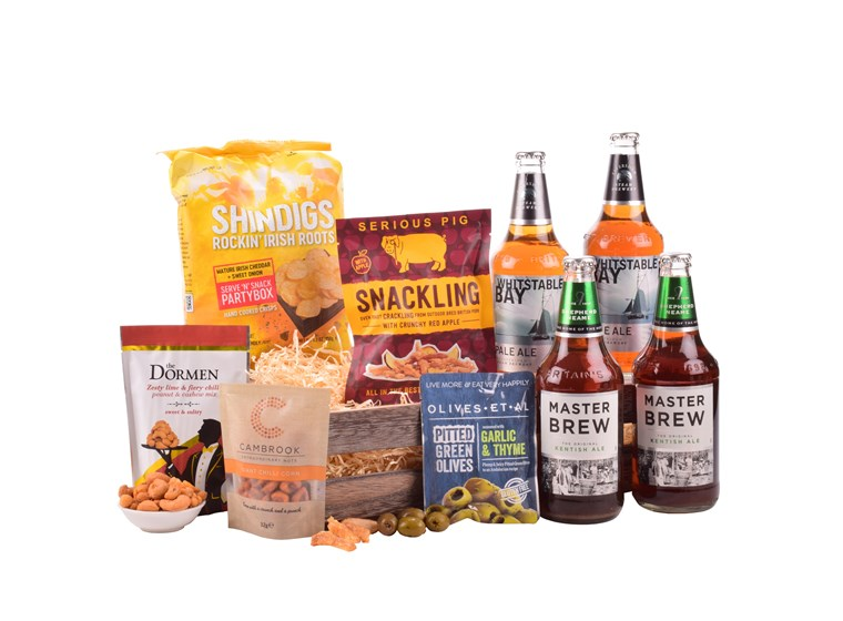 Four premier Beers combined with delicious savoury snacks.