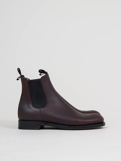 uncle bright, chelsea boot, marron, leather boots, læderstøvler, Premium quality, Handmade in Spain