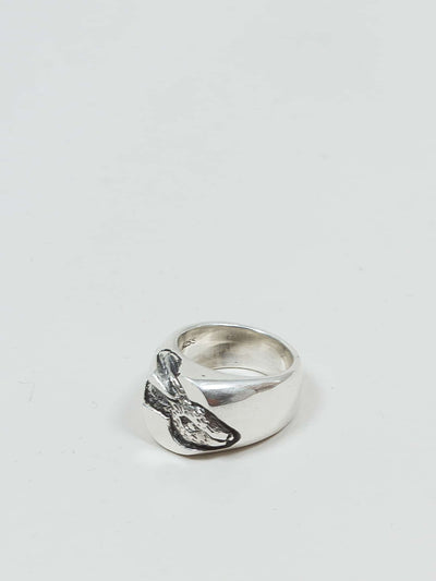 jr. smith jewellery, signet ring, hare