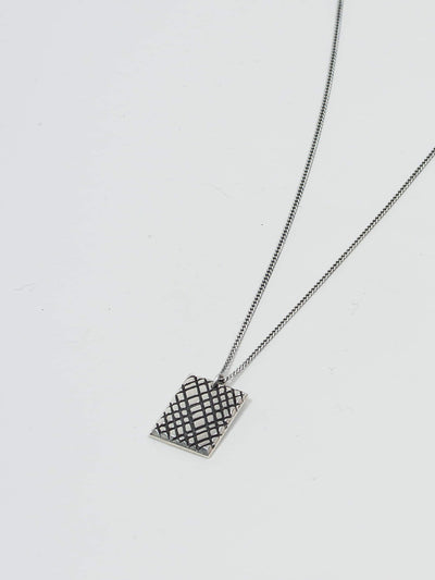 jr smith jewellery, pendant, waffle, necklace