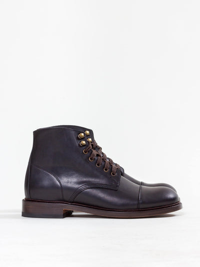 Uncle Bright, Lace Boot, Polo Black