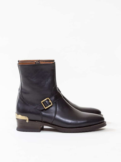 Uncle Bright, Boondock Boot, Black Ox/ Gold
