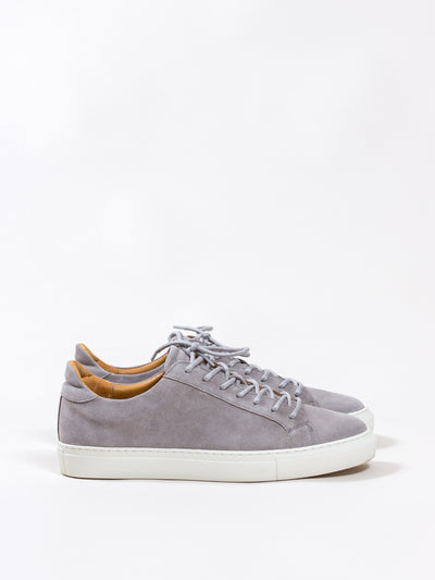 Garment Project, Type Lux, Light Grey Suede sneakers sneaker shoes