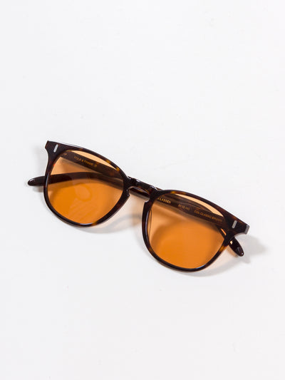 Folk & Frame, Lassen, Classic Brown/ Orange Tint sunglasses eyewear