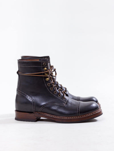 Uncle Bright, Combat Boot, Black Ox
