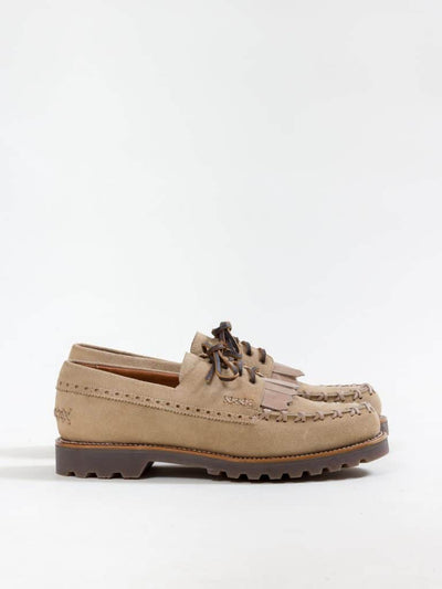 Uncle Bright, Wanderers Deck Shoe, Desert Suede