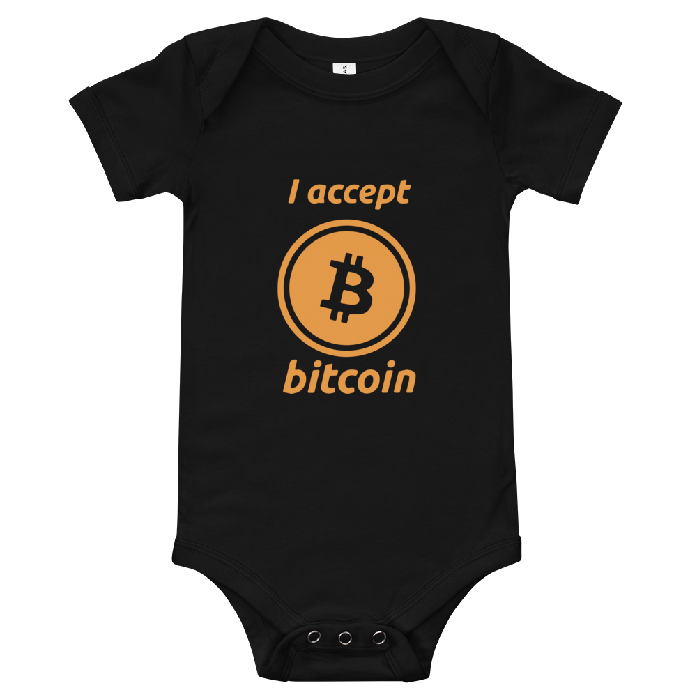 Bella + Canvas Bitcoin short sleeve one piece