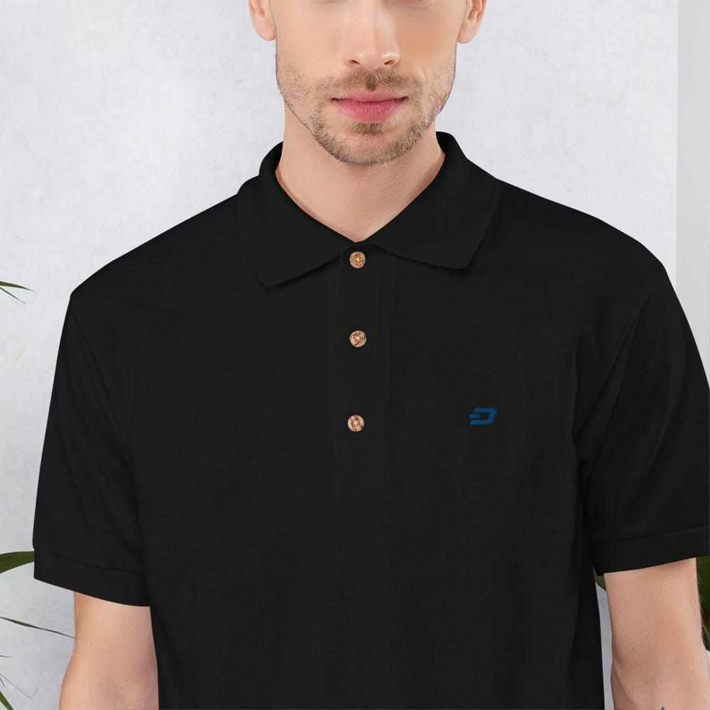 Embroidered Dash Polo Shirt
