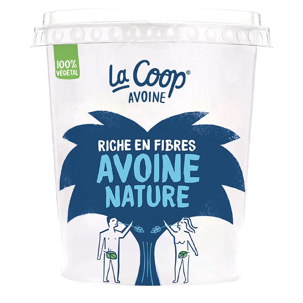 Yaourt Avoine Nature