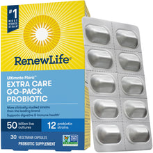 Load image into Gallery viewer, Renew Life® - Ultimate Flora™ Extra Care Go-Pack Probiotic 50 Billion Culture Capsules (30ct / 30 servings) - $1.00/serving*