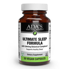 Load image into Gallery viewer, Ada's Natural Market - Ultimate Sleep Formula Capsules (50ct / 50 servings) - $0.30/serving*